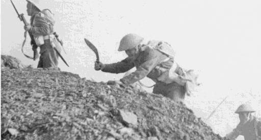Khukri in North Africa, 1943